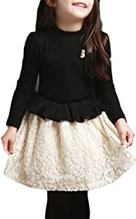 (アーカーワークス) キッズ ジュニア 子供服 女の子 ワンピース ドレス 長袖 シンプル 可愛い エレガント フォーマル イベント ガールズ 誕生日 クリスマス 入学 卒業 発表会 お呼ばれ 七五三 結婚式
