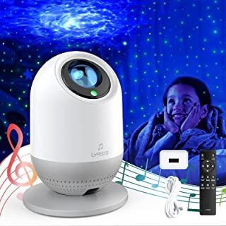 Sponsored Ad - Star Light Projector for Bedroom LYRIDZ Galaxy Projector Night Light Rechargeable Portable LED Sky Nebula L...