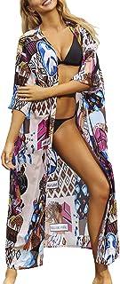 L-Peach Vestido Largo de Playa Mujer