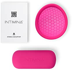 Intimina Ziggy Cup – Extra-Thin Reusable Menstrual Cup with Flat-fit Design
