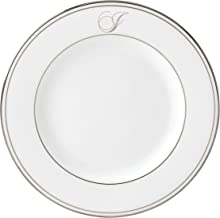 طبق سلطة لينوكس فيدرال بلاتيني سكريبت مونوجرام أواني الطعام