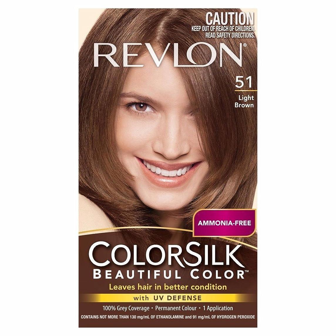 マサッチョシーサイド告白海外直送品Revlon Colorsilk Natural Hair Color, 5N Light Brown each by Revlon