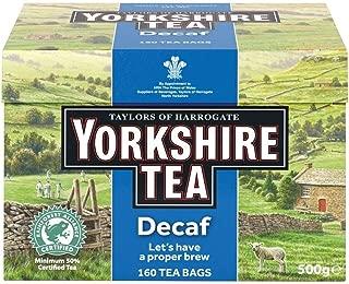 Taylors of Harrogate Yorkshire Decaffeinated Tea (160)