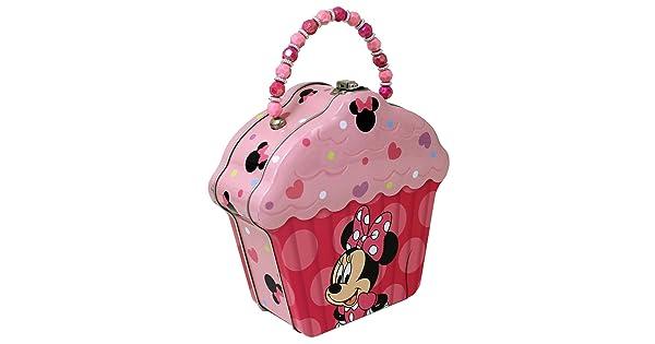 4SGM 15309 The Tin Box Company Cupcake Shape Tin Purse 523607-12