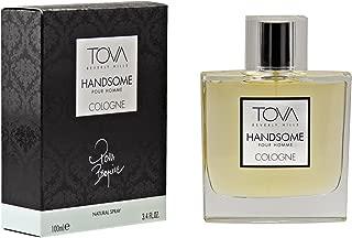 Tova Handsome Cologne Spray for Men, 3.3 Ounce
