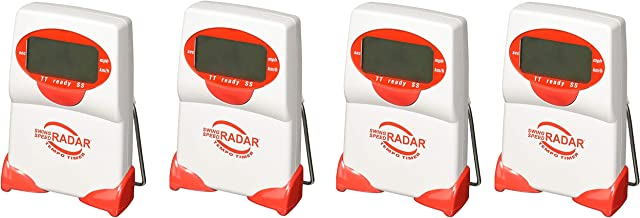 Sports Sensors Swing Speed Radar with Tempo Timer (Pack of 4)