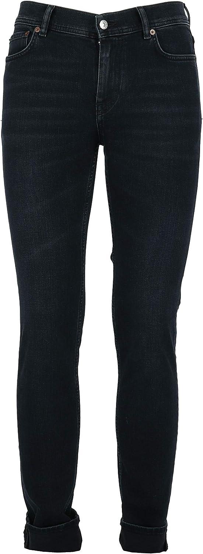 ACNE STUDIOS Men's 30Y183103 Black Cotton Pants