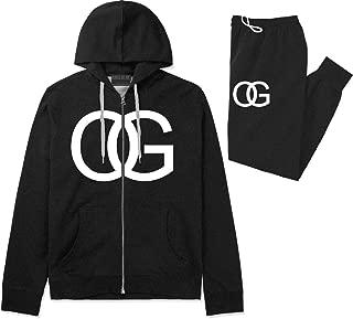 Kings Of NY OG Original Gangsta Mens Sweat Suit Hoodie Pants
