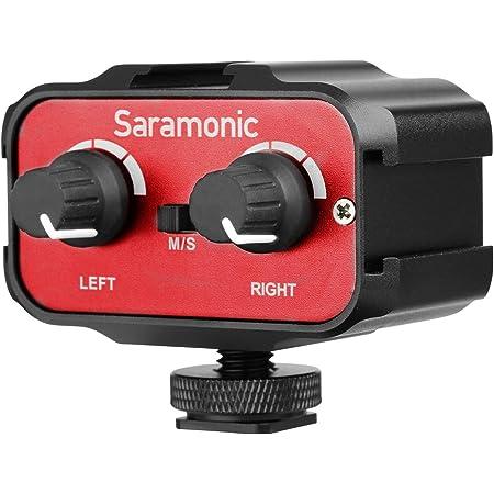 Saramonic Sr Ax100 Universal Audio Adapter Mit Stereo Elektronik