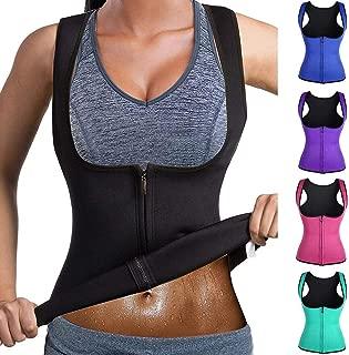 xuprie Vest Corset Fitness Body Shaper Women Waist Trainer Workout Slimming Tops