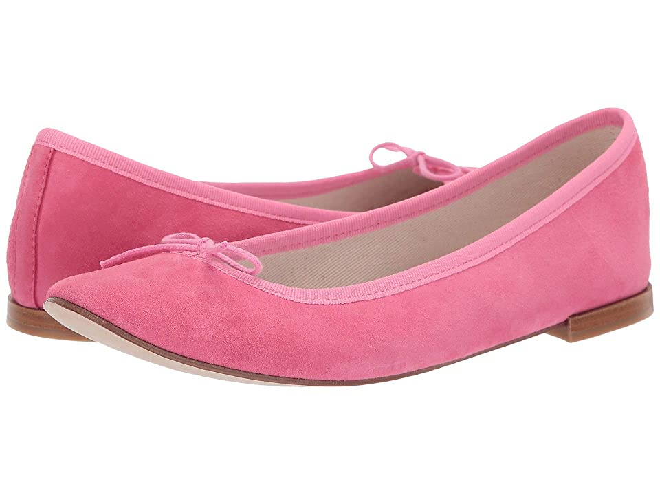 Repetto Cendrillon Suede Leather (Pink Suede) Women