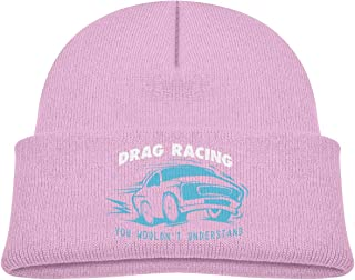 Kocvbng I Drag Racing You Wouldn't Understand Beanie Cap Skull Hat Baby Girl