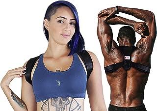 Best Posture Corrector upper Back Brace for Women and Men | Fully adjustable Clavicle Support Back Straightener | Improve Posture and Relieve Pain for Shoulder Neck Back - FDA Approved