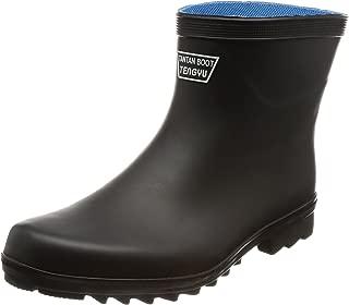 [フジテブクロ] 長靴 作業靴 ショート レインブーツ 9962 メンズ BLACK