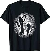 Mademark x Rick and Morty - Portal Hand Drawing - T Shirt