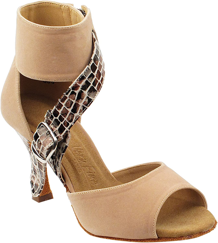 Party Party Beige Dance Shoes: SERA7015 Beige, 2.5