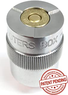 The Shooters Box 45 ACP Case & Ammunition Gauge - New Patent Pending Design ! - for Checking Your Reloads & Ammo
