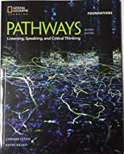 Bundle: Pathways: Listening, Speaking, and Critical Thinking Foundations, 2nd Student Edition + Online Workbook (1-year ac...