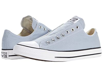 Converse Chuck Taylor(r) All Star(r) Slip Seasonal Color Hi (Obsidian Mist/White/Black) Slip on Shoes