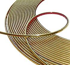 Aerzetix: 4 mm 4,5 m Stick tape goudkleur goud