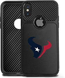 iPhone Xs Max Case Cover Slim Soft Carbon Fiber Pattern Silicone TPU Protective Durable Snap on Shell for iPhone Xs Max 6.5 inch Black