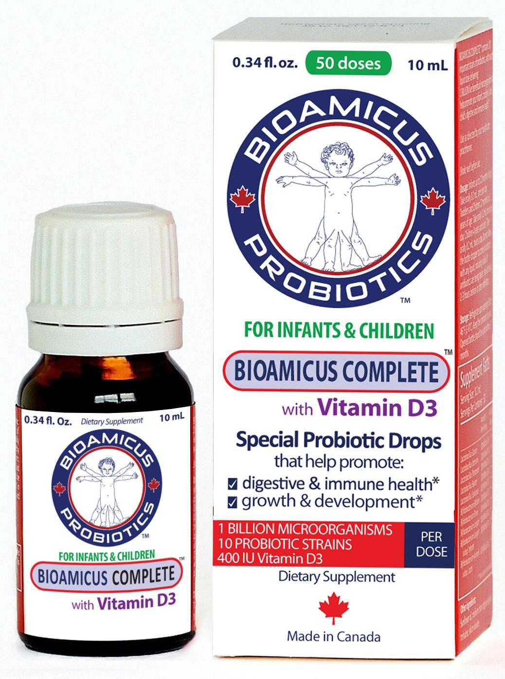 BIOAMICUS COMPLETE Toddler Probiotic VITAMIN