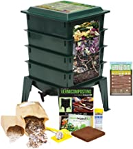 diy worm compost tower