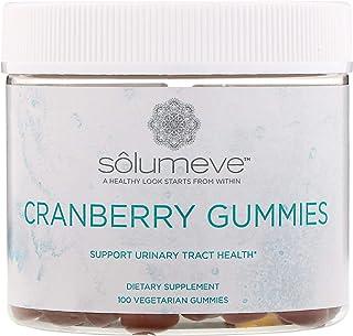 Solumeve Cranberry Gummies, Gelatin Free, Cranberry Flavor, 100 Vegetarian Gummies
