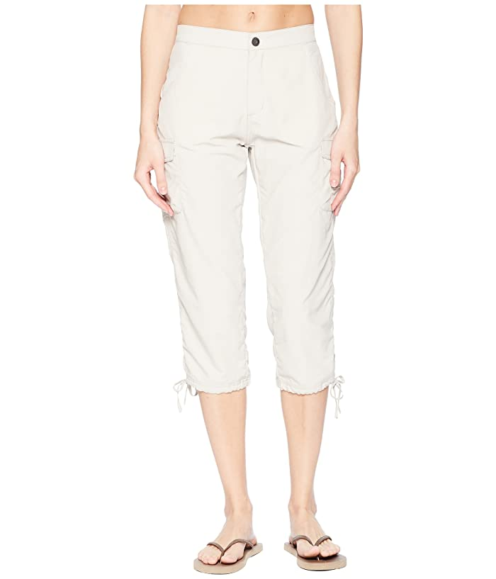 White Sierra Crystal Cove River Capri (Pale Taupe) Women