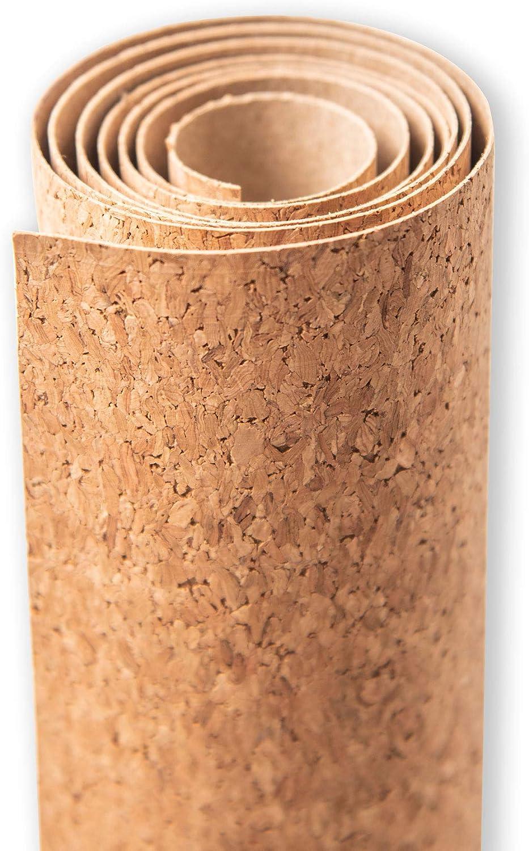 Sizzix Surfacez-Superficies 663892-Rollo de Corcho, Tamaño, marrón, Talla única