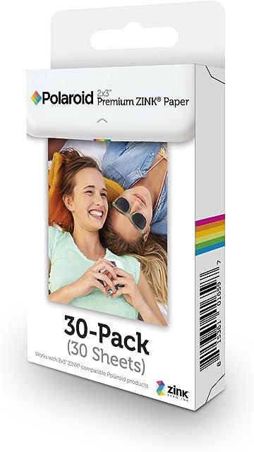 Polaroid Premium Papel a8 blanco