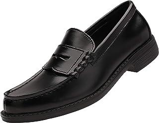Yaer Classique Mocassins en Homme Cuir Fait à la Main Penny Loafers Flat Business Chaussure Bateau