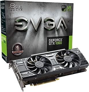 EVGA GeForce GTX 1060 6GB GAMING ACX 3.0, 6GB GDDR5, LED, DX12 OSD Support (PXOC) Graphics Card 06G-P4-6262-KR