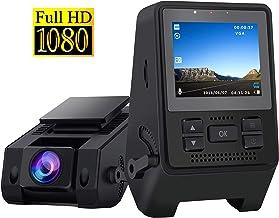 $49 » Dash Camera for Cars 1080P Full HD Dash Cam Super Night Vision, 170° Wide Angle, Motion Detection, Parking Monitoring, G-Sensor, Loop Recording