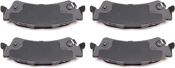 Ceramic Discs Brake Pads,SCITOO 4pcs Rear Brake Pads Brakes Kits fit for 00-05 Cadillac DeVille, 03-05 Chevy Astro, 03-05 GMC Safari, 99-06 GMC Sierra 1500, 07 GMC Sierra 1500 Classic, 00-01 GMC Yukon