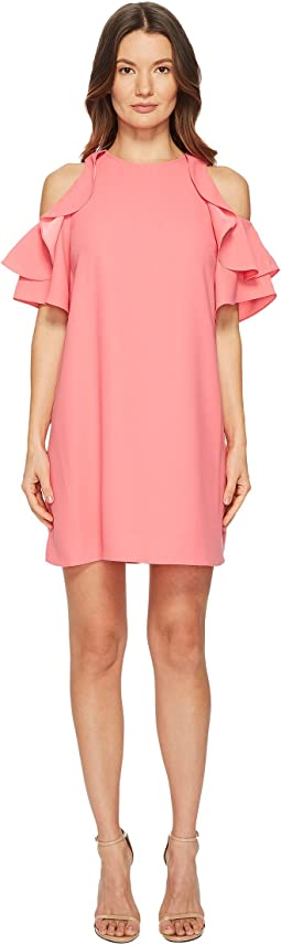 Kate Spade New York - Cold Shoulder Crepe Dress