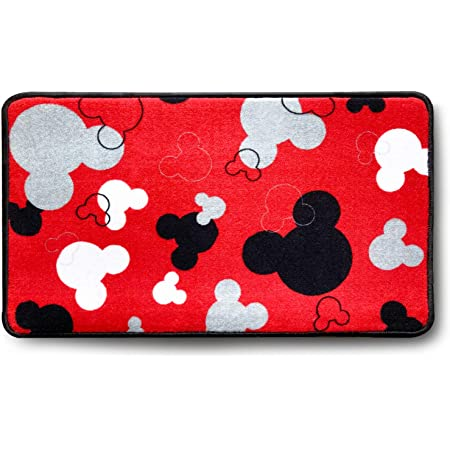 Amazon Com Mickey Mouse Rugs Bathroom Rug Indoor Outdoor Entrance Rug Kitchen Rug 17 X 30 Red Kitchen Dining