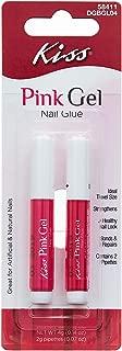 kiss pink gel nail glue