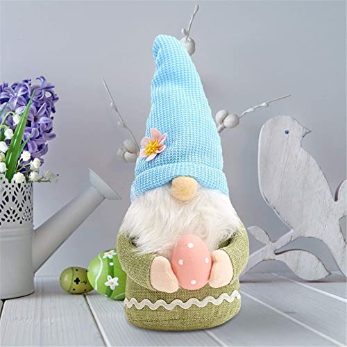 popular 12In Easter Gnome Holding Egg Spring Easter Gift Plush Gnome outlet online sale sale Tomte Nordic Swedish Scandinavian Dwarf Home Decor Spring Easter Collectible Figurine 12In Stuffed Toy Ornament online sale