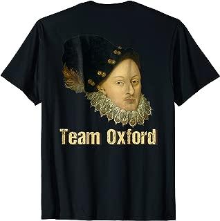 Mens Team Oxford Edward De Vere Tshirt Novelty Gift