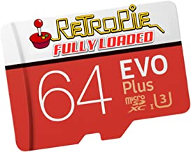 Retropie 130,000 Games for Raspberry Pi 3B and B+ - Fully Loaded Micro SD Card