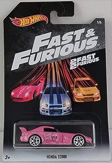 Hot Wheels Mattel 2018 Walmart Exclusive Fast & Furious - Honda S2000 (Pink)