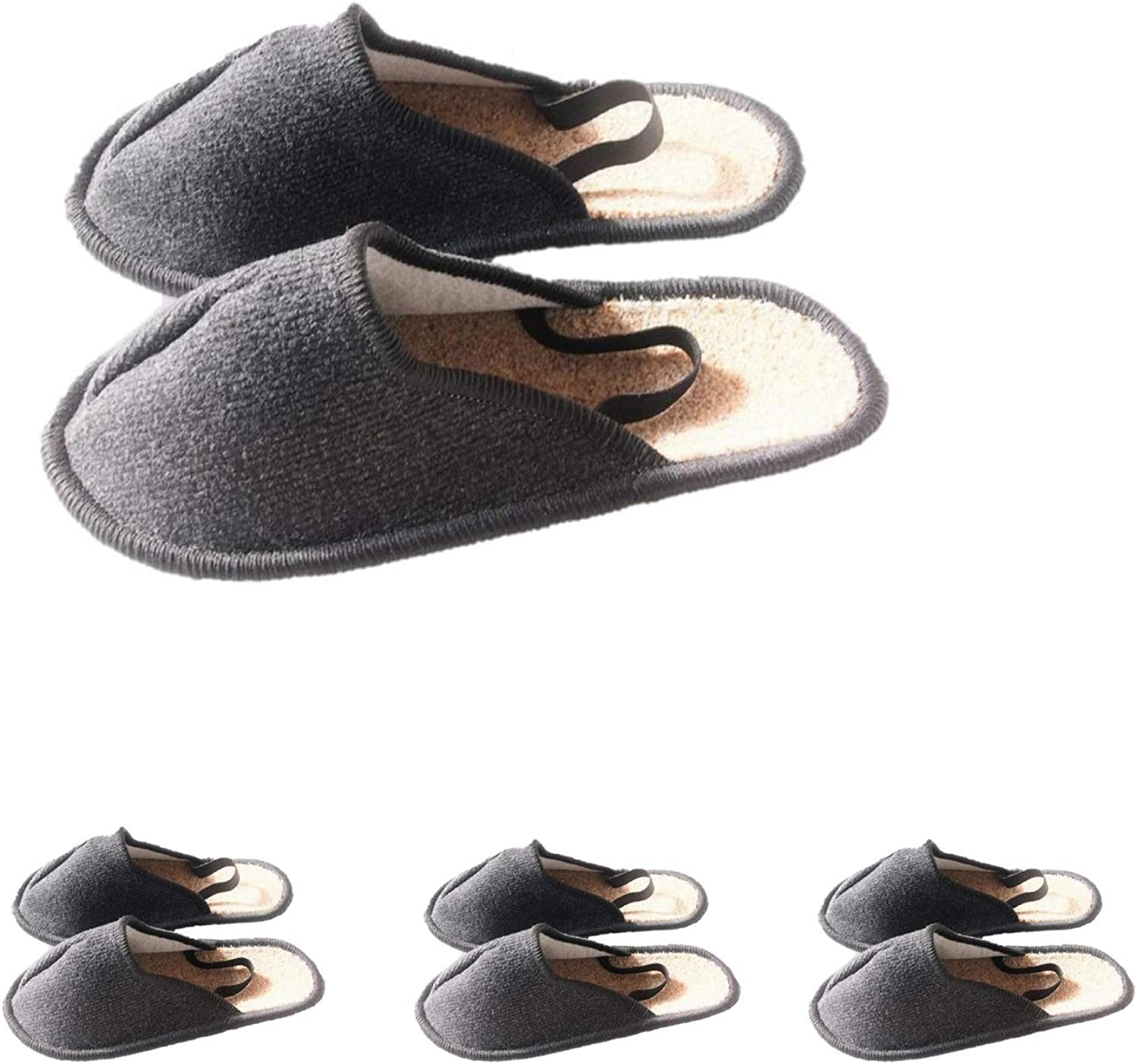 Professional Museum Slippers with Elastic Heel shoes Overshoes, 4 Paar