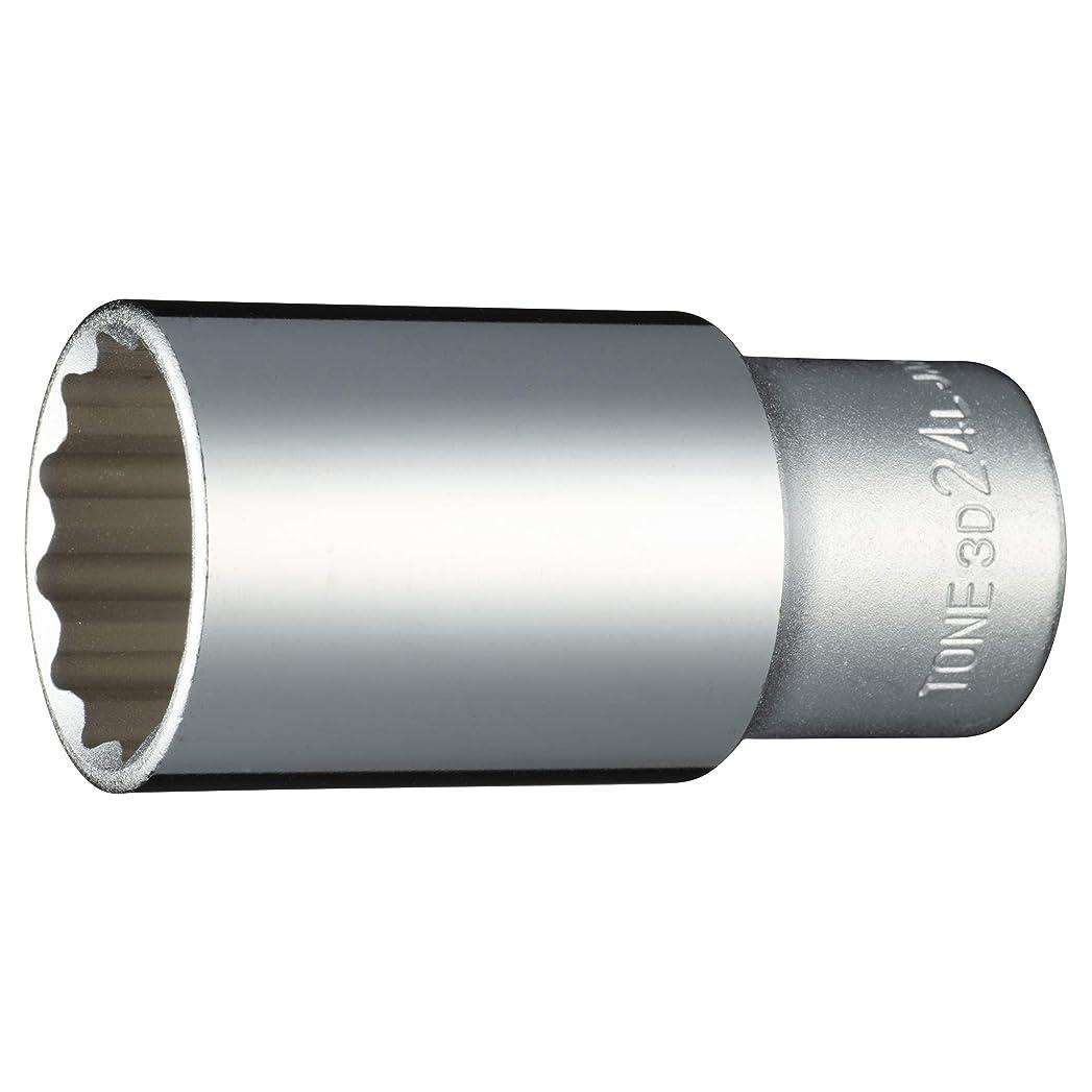 普遍的な予約つなぐトネ(TONE) ディープソケット(12角) 差込角9.5mm(3/8