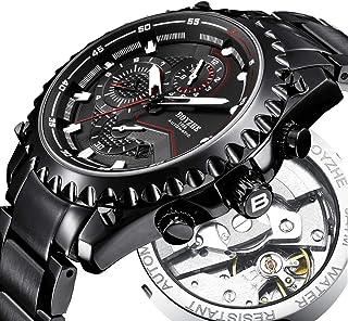 BOYZHE Men Automatic Mechanical Watch Sports Luminous Luxury Brand Business Fashion Casual Waterproof Stainless Steel Watches
