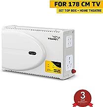 V-Guard Digi 200 Supreme TV Voltage Stabilizer for 178 cm (70) TV+ Set top box+Home Theatre System (Working Range: 140-295 V; 6 A)