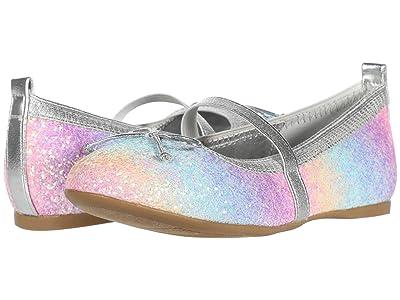 Nina Kids Esther-T (Toddler/Little Kid) (Pastel Rainbow Glitter) Girls Shoes
