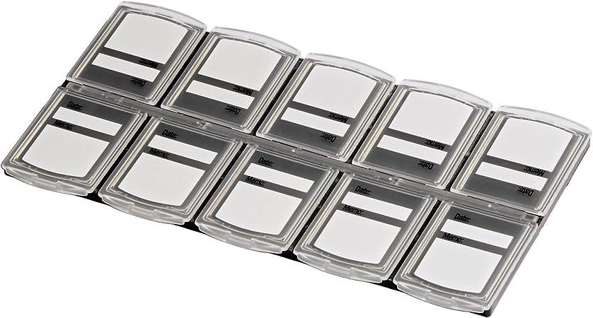 Hama Speicherkarten Box Für 10 Speichermedien Kamera