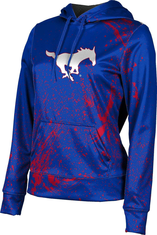ProSphere Southern Methodist University Girls' Pullover Hoodie, School Spirit Sweatshirt (Splatter)