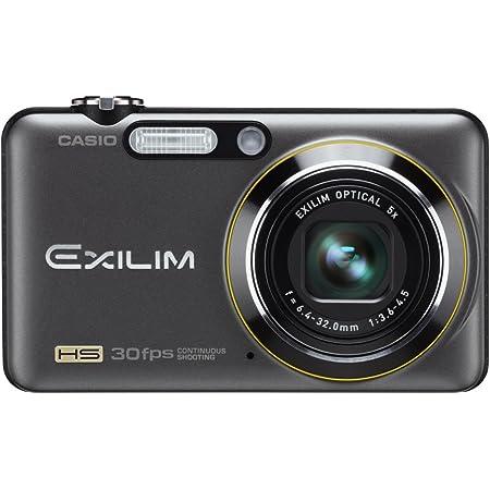 CASIO デジタルカメラ HI-SPEED EXILIM EX-FC100 ブラック EX-FC100BK